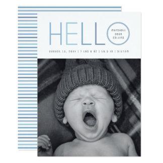 Modern Hello Card