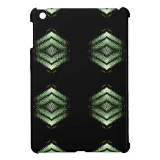 Modern Hip Black Green Pattern Cover For The iPad Mini