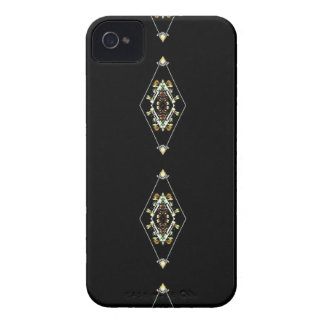 Modern Hip Masculine Pattern iPhone 4 Case-Mate Case