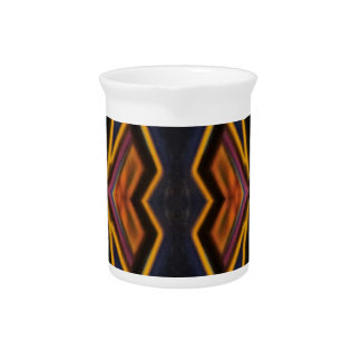 Modern Hip Masculine Pattern Pitcher