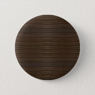 Modern Hip Shades of Brown Textured Pattern 6 Cm Round Badge