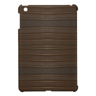 Modern Hip Shades of Brown Textured Pattern iPad Mini Case