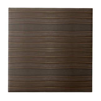 Modern Hip Shades of Brown Textured Pattern Tile