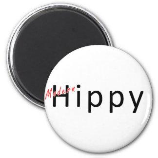 Modern Hippy 6 Cm Round Magnet