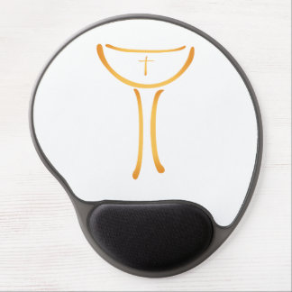 Modern Holy Chalice Christian symbol Gel Mouse Pad