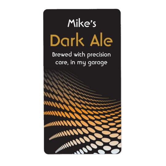 Modern Home brewed beer Labels