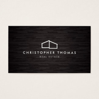 2 000 builder business cards and builder business card for Modern house logo