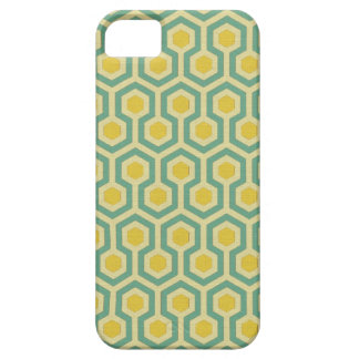 Modern honeycomb geometric tribal pattern print barely there iPhone 5 case