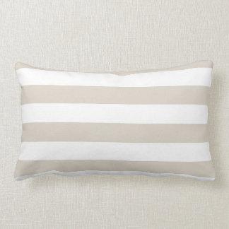 Modern Horizontal Stripe Lumbar Cushion