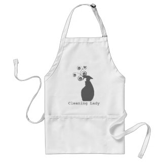 Modern Housekeeping House Cleaning Standard Apron