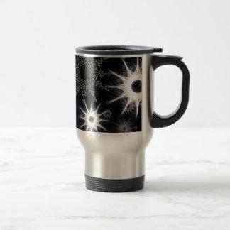 Modern Ice Crystals 15 oz. Travel/Commuter Mug