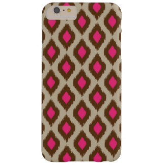 Modern ikat pattern barely there iPhone 6 plus case