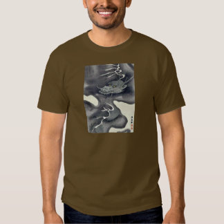 Modern illustrated sheets with pictorial envelope tee shirts