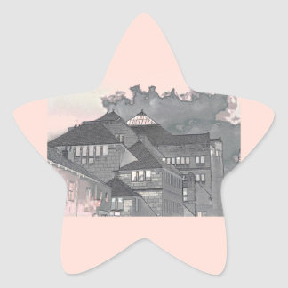 Modern in York II Star Sticker