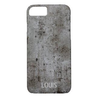 Modern Industrial urban grunge rusty concrete iPhone 8/7 Case
