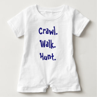 Modern Infant Typography Romper Baby Bodysuit
