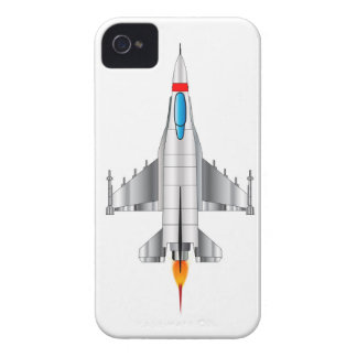 Modern Jet Fighter Plane Case-Mate iPhone 4 Case