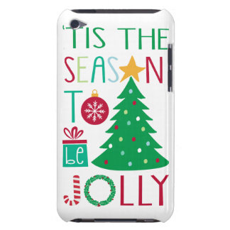 Modern Jolly Christmas iPod Touch Case-Mate Case