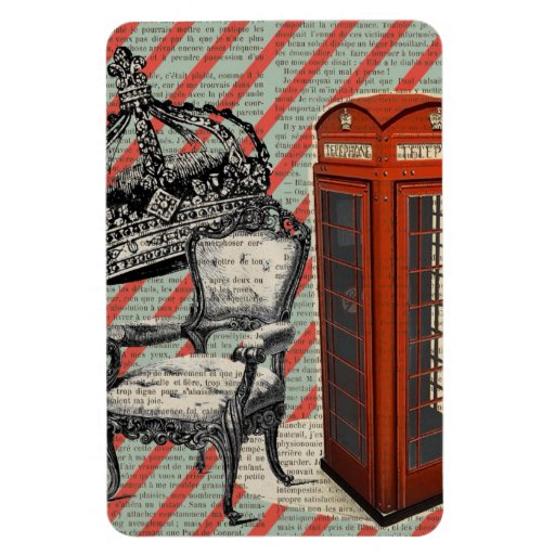 modern jubilee telephone booth london fashion rectangle magnets
