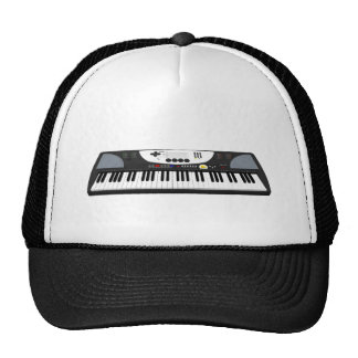 Modern Keyboard Synth: 3D Model: Cap
