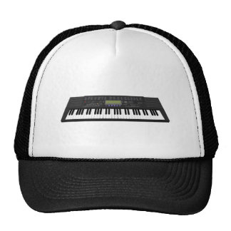 Modern Keyboard Synth: 3D Model: Trucker Hat