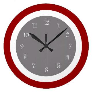 modern kitchen wall clocks zazzle au
