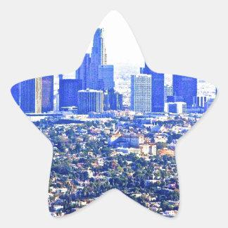 Modern LA Star Sticker