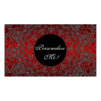 Modern Lace Elegant Unique Monogram Girly Business Card Templates