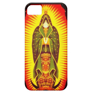 Modern Lady of Guadalupe iPhone 5 Covers