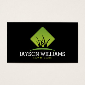 Modern Lawn Care/Landscaping Grass Logo II