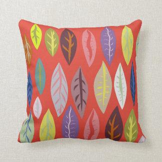 Modern Leaf Pattern Cushion
