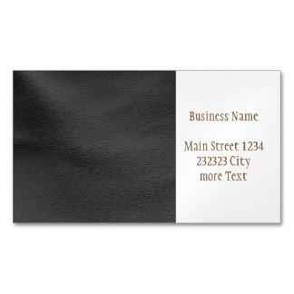 Modern leather structure magnetic business cards
