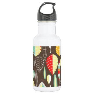 Modern Leaves 532 Ml Water Bottle
