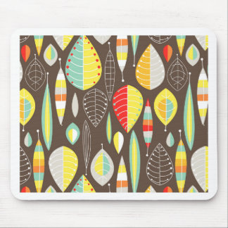 Modern Leaves Mouse Pad