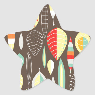 Modern Leaves Stickers