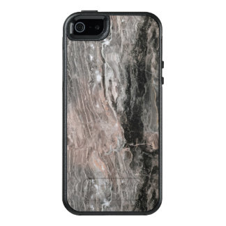 Modern Light And Dark Gray And Black Marble Stone OtterBox iPhone 5/5s/SE Case