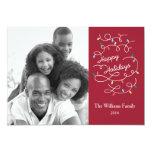 Modern Lights Happy Holidays Photo Card Groupon Custom Invites