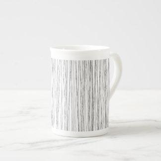 Modern Line Pattern Mug Bone China Mug