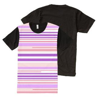 Modern Lines Bubbleblue Design Shirt