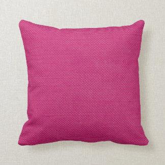 Modern Lines Linen Look fuschia Cushion