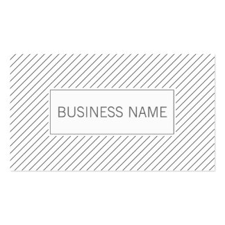 Modern Lines Physical Scientist Business Card