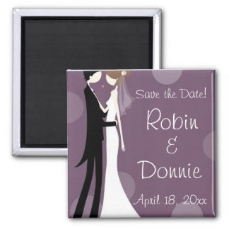 Modern Love Square Magnet