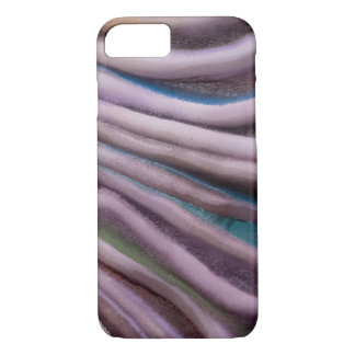 modern macro painted swirl abstract iPhone 8/7 case