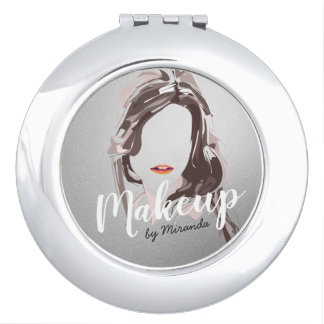 Modern Makeup Artist and Hair Stylist Beauty Salon Vanity Mirrors
