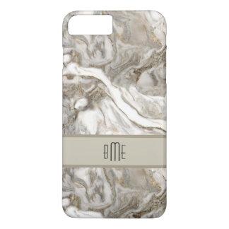 Modern Marble Monogram iPhone 8 Plus/7 Plus Case