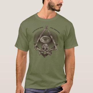 Modern Master Mason distressed M1 Garand & Kabar T-Shirt