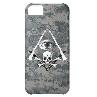 Modern Master Mason Garand Masonic Skull widows iPhone 5C Case