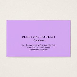Modern Mauve Mallow Pink Minimalist Consultant