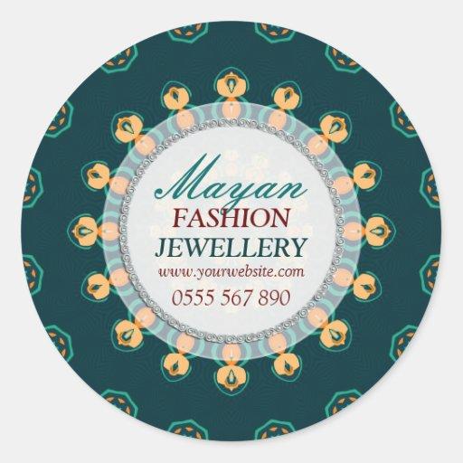 Modern Mayan Fashion Jewellery Product Sticker