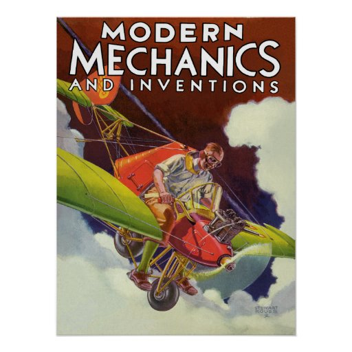 Modern Mechanics and Inventions 1936 Posters